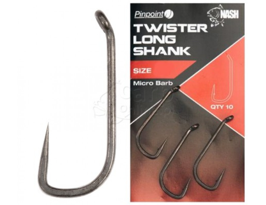 TWISTER LONG SHANK SIZE 5