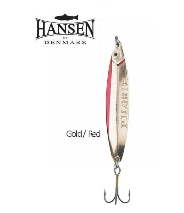 Hansen Pilgrim 8.9cm 28g Gold/Red