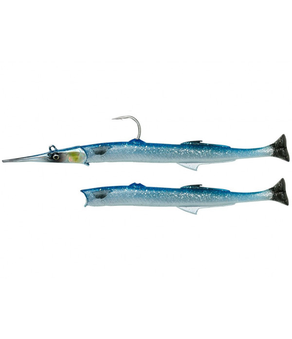 Needlefish Pulsetail 2+1 14cm 12g Blue