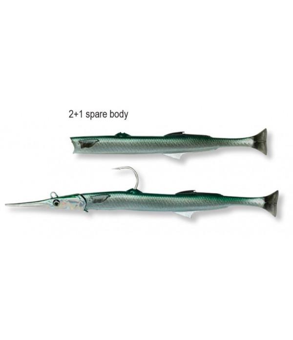 Needlefish Pulsetail 2+1 14cm 12g Green