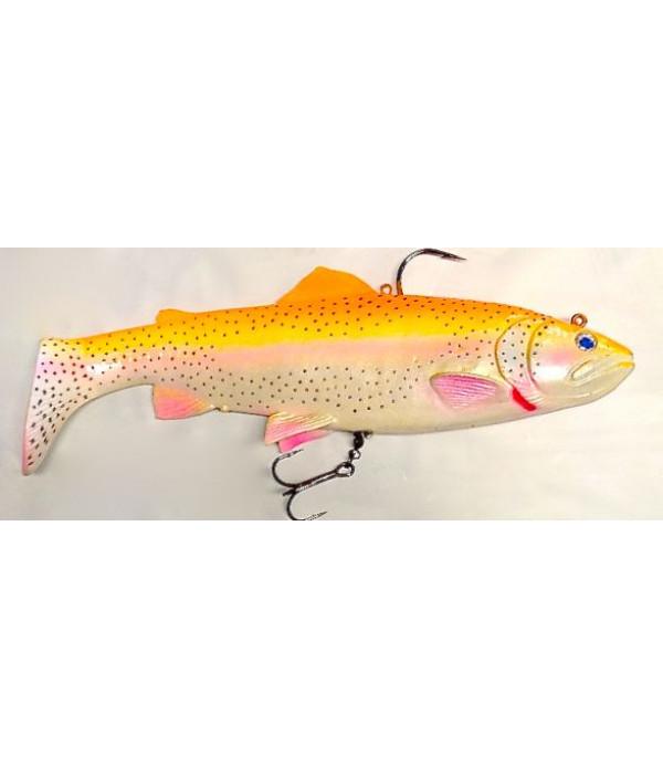SG 3D Trout Rattle Shad 12.5cm 35g 02-Golden Albino Rainbow
